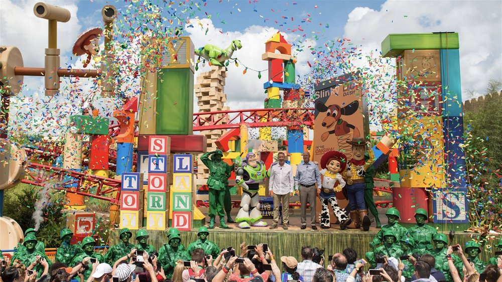 The Nassal Company - Toy Story Land Opening Stage - Disney's Hollywood Studios, FL