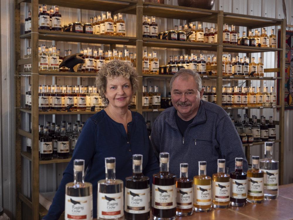 Jill Linquist (President / Distiller) Kris Pruski (Distiller)