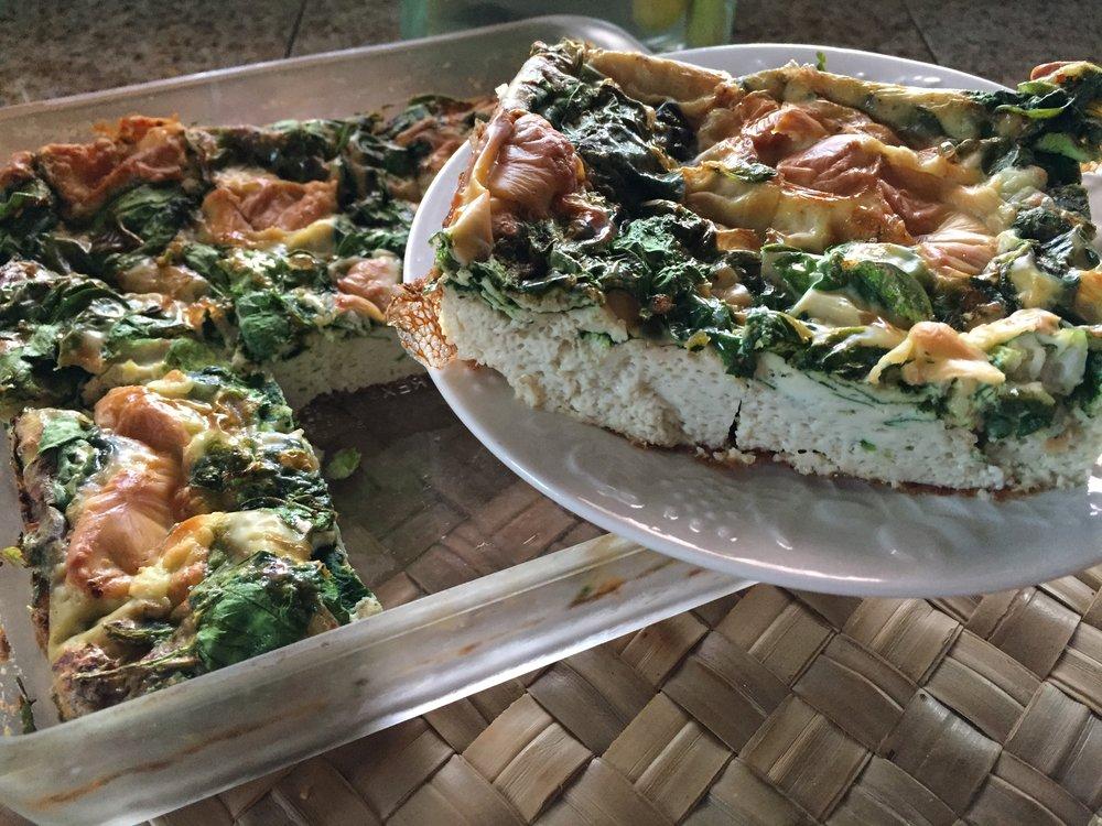 High Prana Breakfast begins the day…..