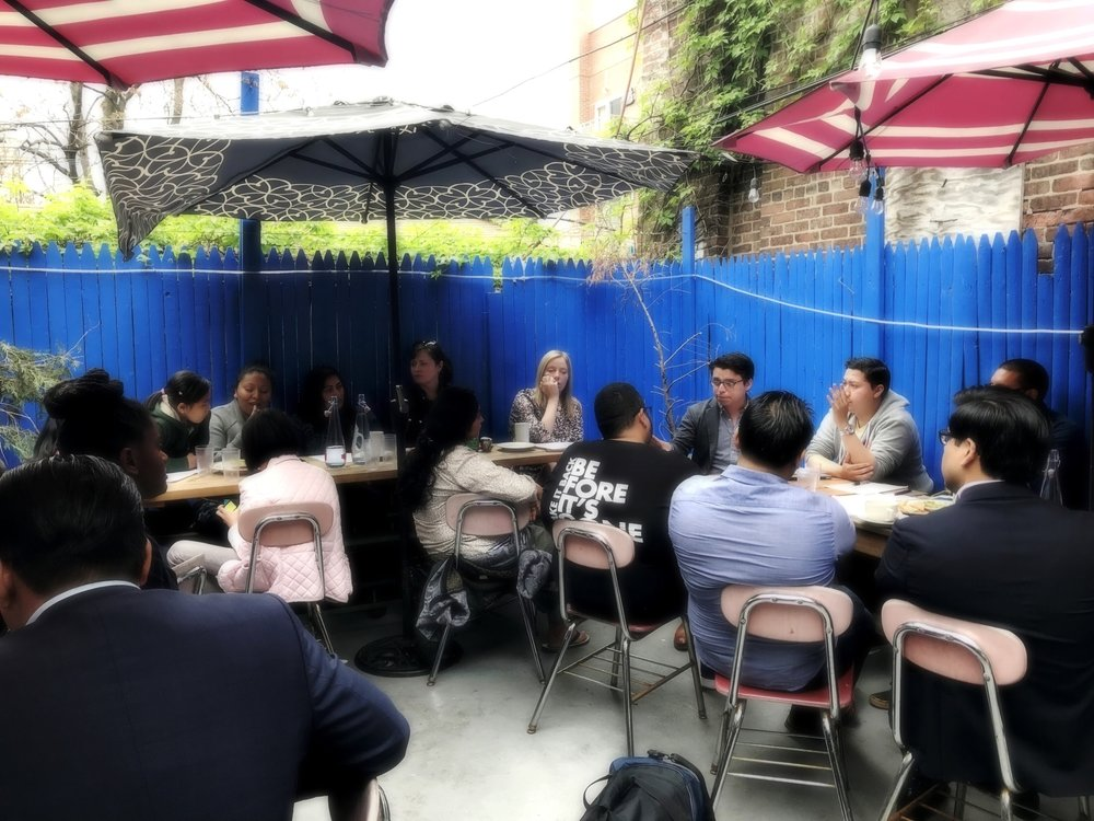 The Vision Project isa coalition of political clubs andcommunity organizationshosting participatory workshopsacross Brooklyn -