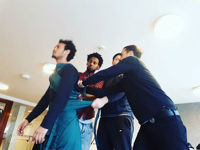 |...in motion...| Movement is looking fresh today. Our first performances are in just two weeks time! Make sure you check out @camdenpeoplestheatre website for details about their No Direction Home festival . . . . . . . . . . #nodirectionhome #camden #theatre #performing #behindthescenes #refugeetheatre