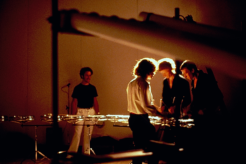From Scratch performing at the Sydney Biennale, 1979.