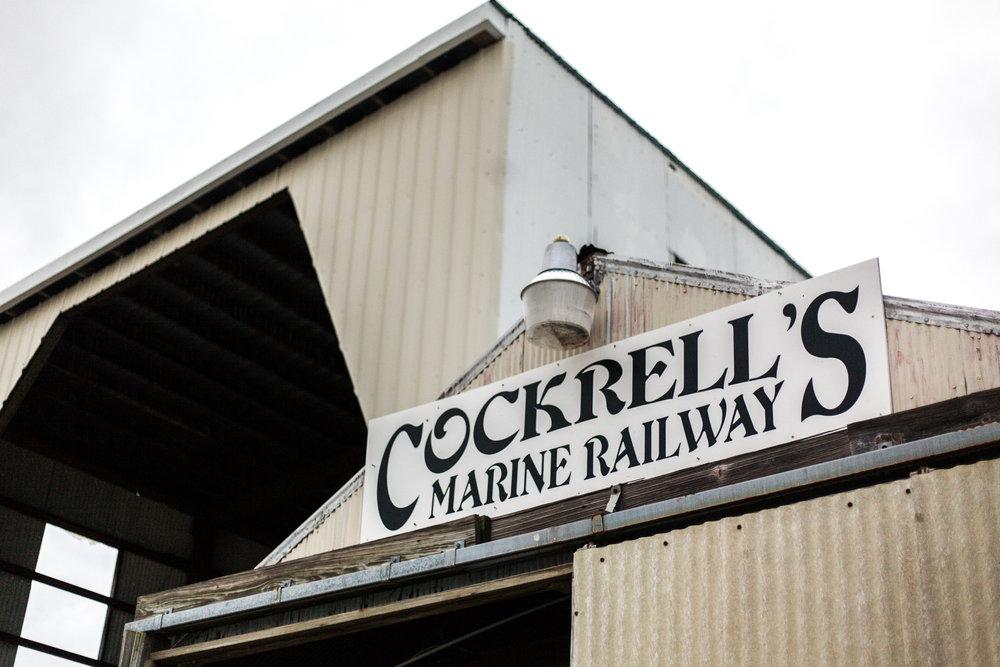 Cockrell's Marine Railway