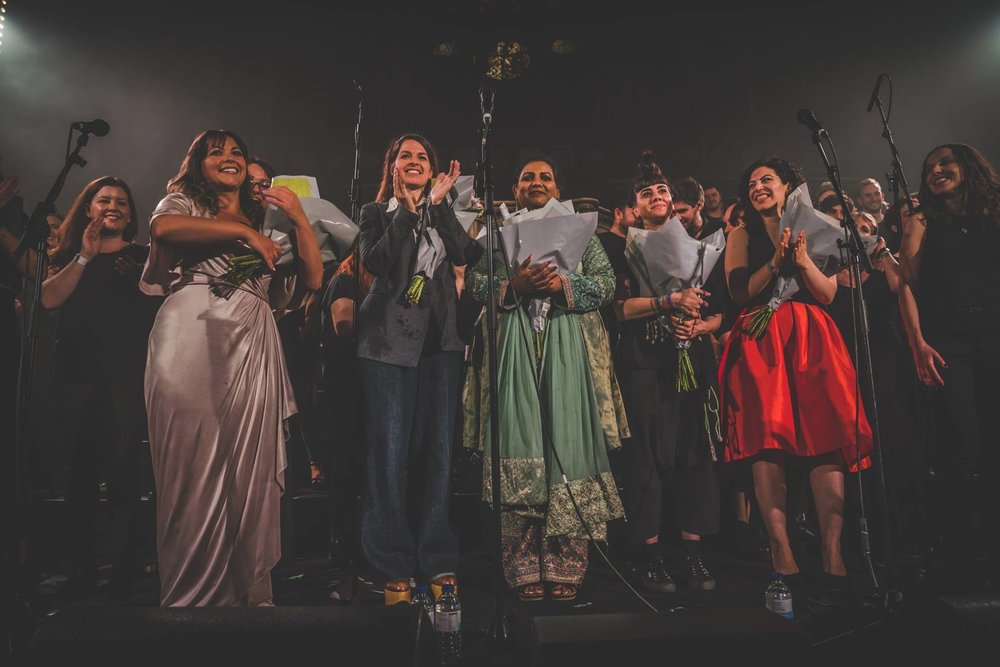 LCV Choir women in music concert at Union Chapel London.jpg
