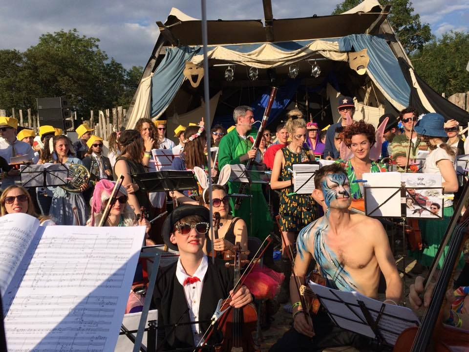 Secret Garden Party with orchestra