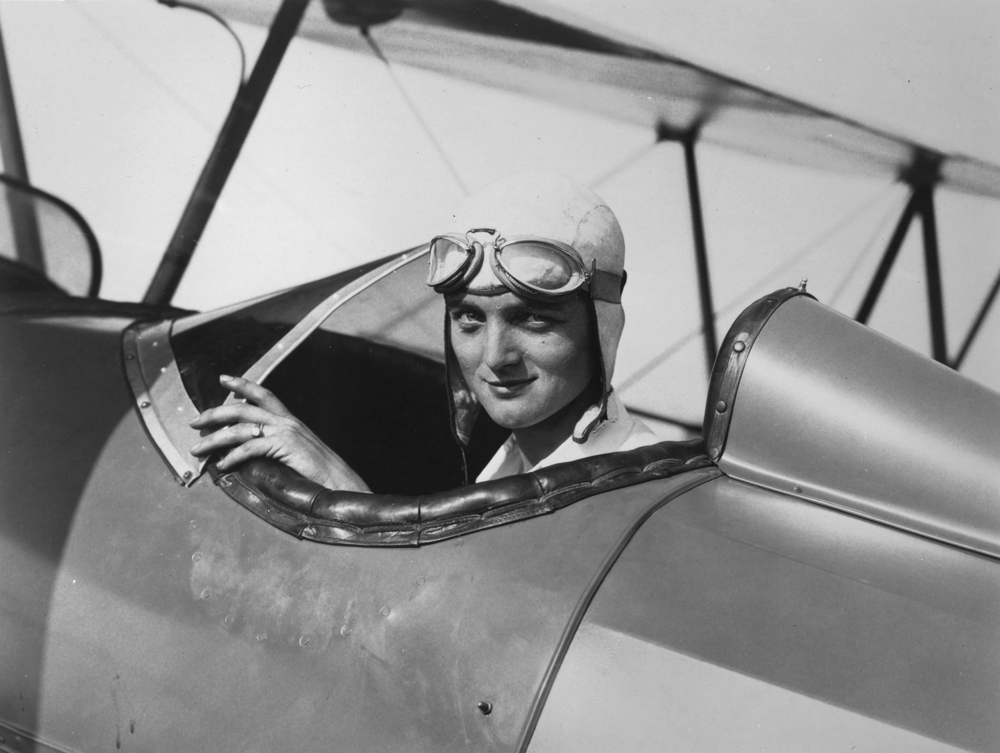 Louise Thaden earned her pilot's license in 1928 and set her mind on breaking records.  National Air & Space Museum