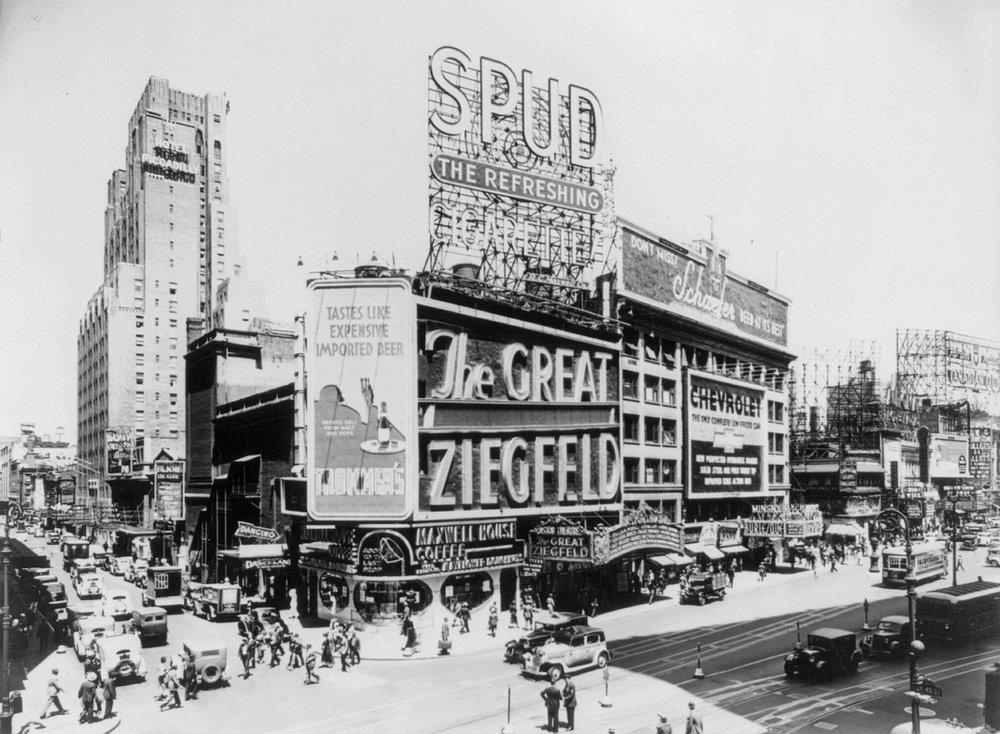 Florenz Ziegfeld Jr. was a legendary showman who built a theater to match his reputation.