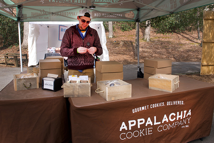 The amazing Appalachia Cookie Company was in the house!