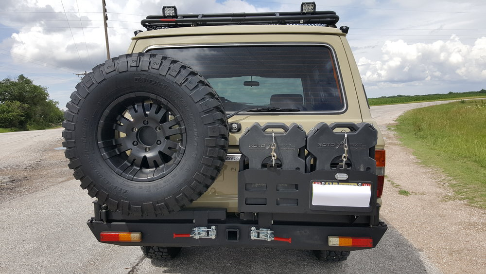 Rear Bumper with Tire Carrier & Jerry Can Holder - $9999.99