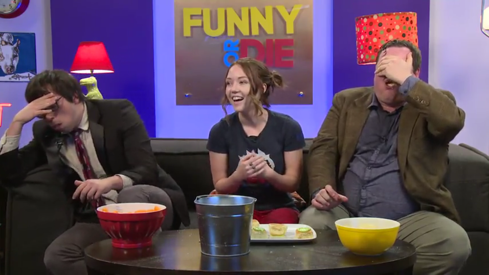 Hosting Funny Or Die's Twitch Launch