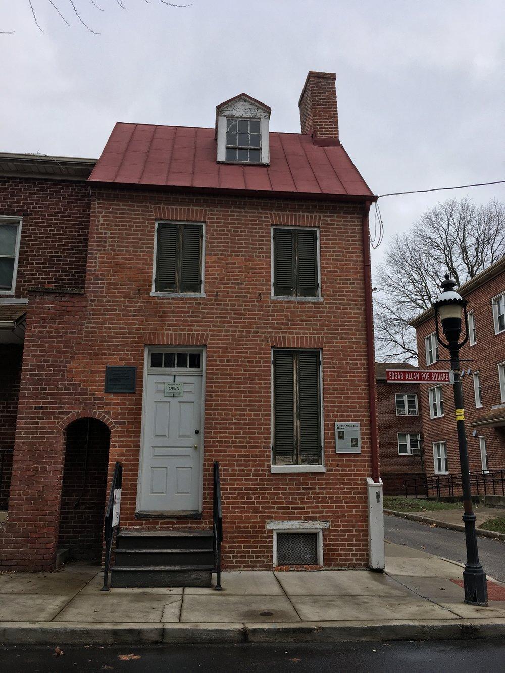 Poe House Baltimore