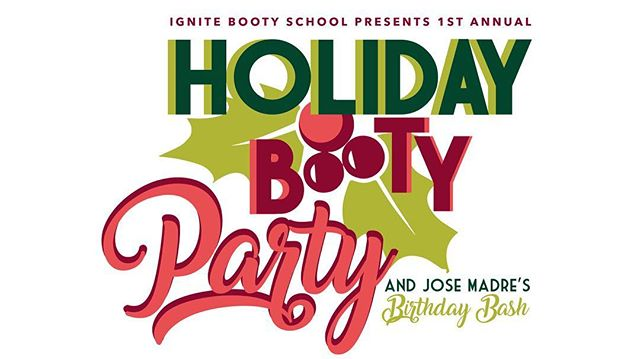 Oooooh bae, so excited to announce our 1st Annual Holiday Booty Party and @josemadre  Birthday Bash at @thesirenmorrobay •••• 3 DJs Performance By Ignite Booty Babes Dance Party all night!!! ••• Dec 22 @ 8pm ••• Tickets $10 - link in Bio!  #morrobay #thesirenmorrobay #josemadre #bootyparty
