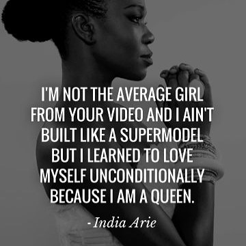 This is the why we move - thank you for the reminder and always being an example of a Queen 👑 @indiaarie