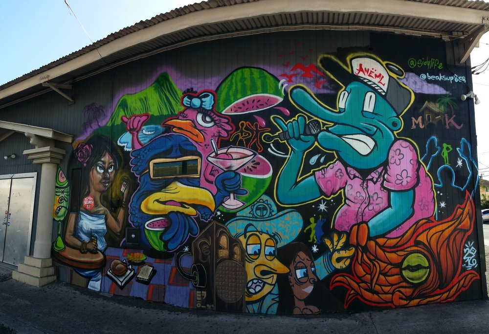 Mural Collaboration with Beak03