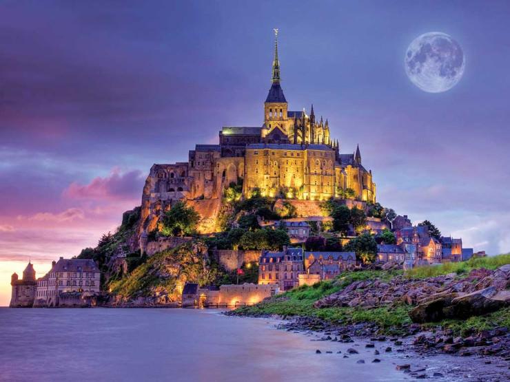 Mont Saint-Michel, Normandy, France.jpg