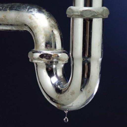 Drain leak