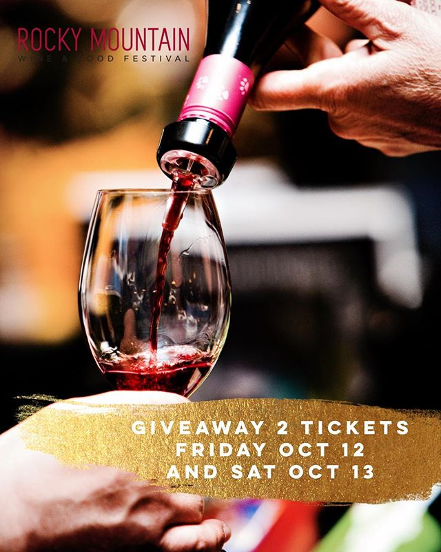 We're going to have a booth at the ROCKY MOUNTAIN WINE AND FOOD FESTIVAL THIS YEAR!! 🤩 AND.... - 🚨🚨🚨We're going to do a GIVEAWAY to start off the month!🚨🚨🚨 - Want to win two tickets to the Rocky Mountain Wine and Food Festival this year? - • FOLLOW @hokuyyc and @sweettoothyyc on Instagram • Tag as many friends as you can on this post and tell them to do the same! 😁 • Brownie points on reposting this post! 🌟 - GIVEAWAY CLOSES OCT 5, 2018 . . . #SweetToothIceCream #SweetToothYYC #YYCfood #YYCeats #YYCicecream #rolledicecream #thaiicecream #yyc #calgary #calgaryrolledicecream #datenight #curiocitycalgary #localislovely #instagood #foodie #rockymountain #rmwff2018 @rockywinefood