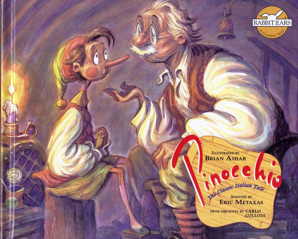 Pinocchio- Cover