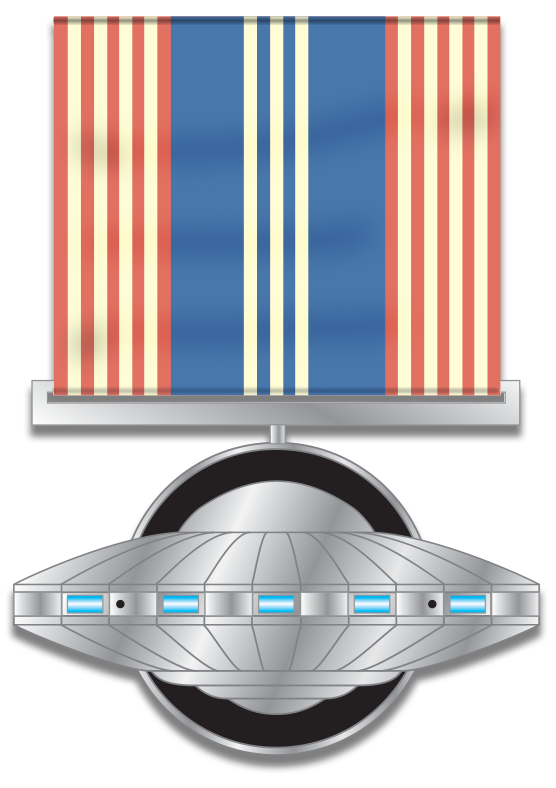 2013 Medal of High Honor  – Edition of 350 sequentially-numbered medals