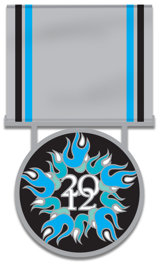 2012 Medal of High Honor  – Edition of 350 sequentially-numbered medals