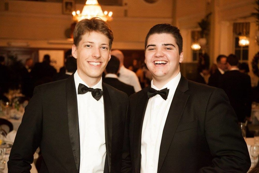 NSW YL President Alex Dore (left) and SULC Treasurer Dimitry Palmer (right)
