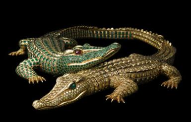 Crocodile neckle, 1975.