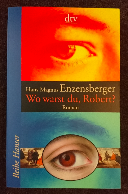 """""""Wo warst du, Robert?"""" by Hans Magnus Enzensberger - A couple of years ago I worked as a student aid for a professor at the German Literature Department at the University of Bern. One day, still fairly fresh to the job, my boss asked me to contact Enzensberger for some quoting rights. I assumed an assistant would respond to me – when Enzensberger himself answered my enquiry, I was completely and utterly flustered. For the next couple of weeks, I walked around and told everyone that I had """"corresponded with Hans Magnus Enzensberger"""". After all, he has done it all. He's a poet, author, publisher, editor and a translator. In the sixties he has won the Georg Büchner prize, the most important literary prize for the German language. He's now 88 years old and still one of the most relevant German voices."""