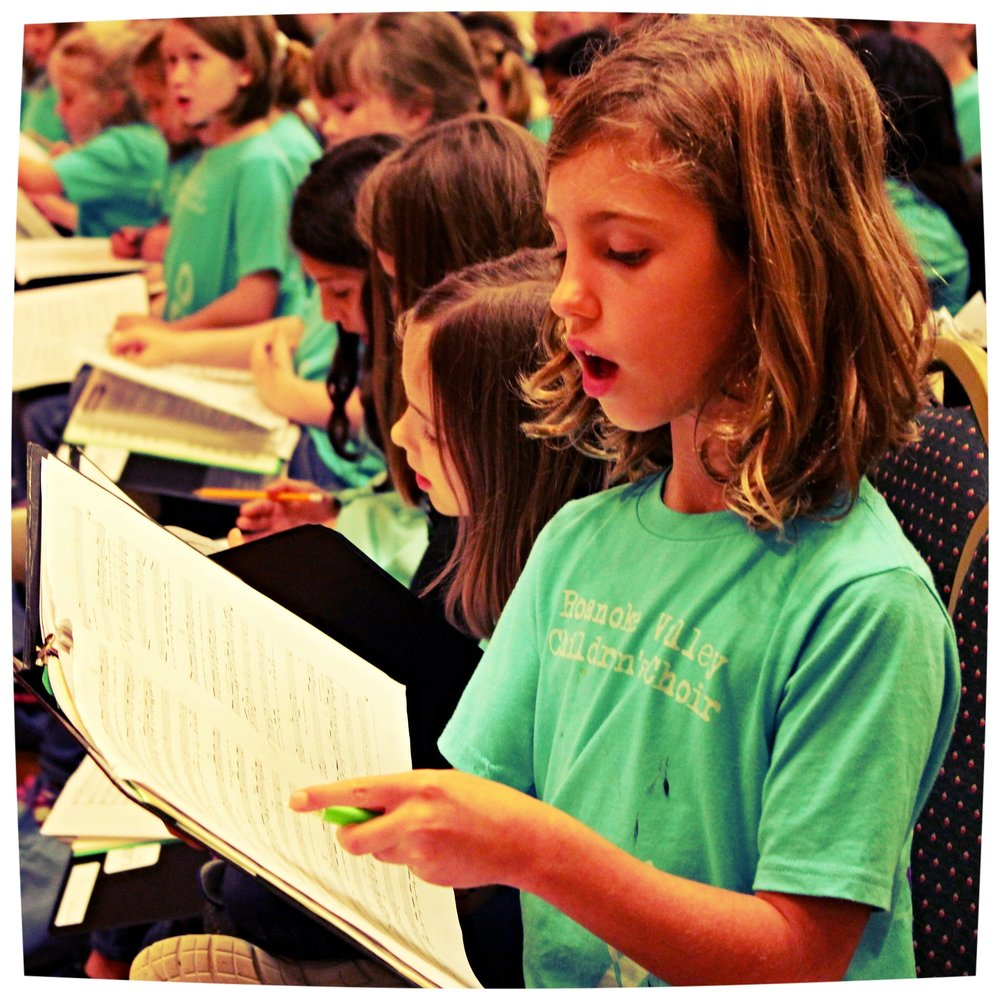Find Your Voice - As a member of the Roanoke Valley Children's Choir, you'll find the confidence that you can be a part of something amazing. You'll find a great new group of friends. You'll find an appreciation for music you may have never heard before.Great things happen when you find your voice.