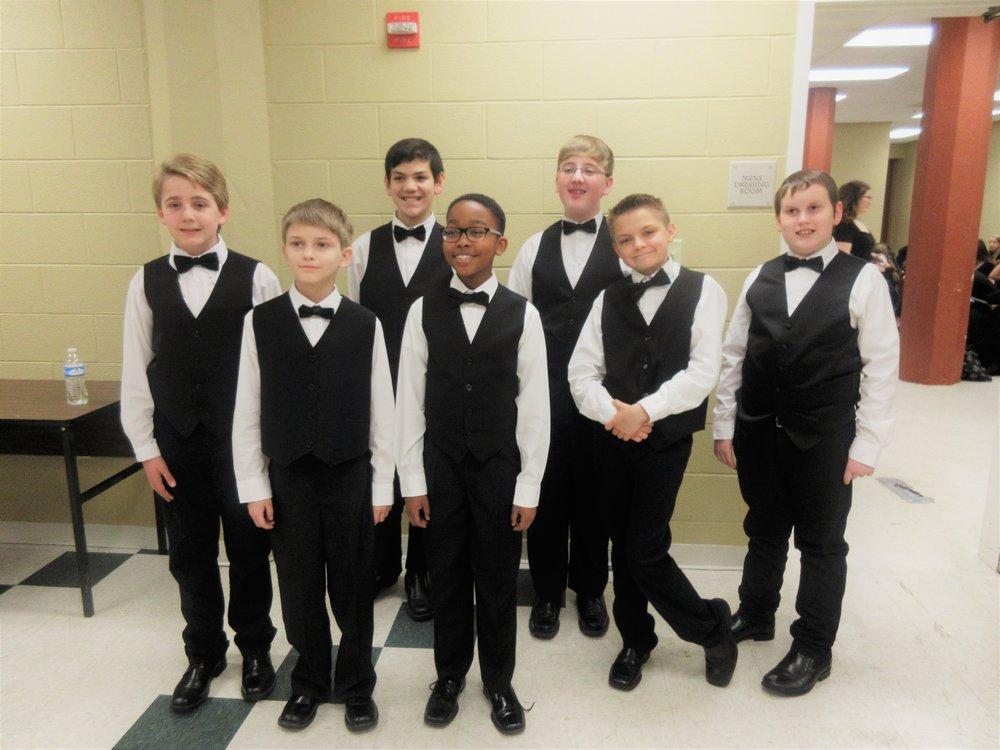 B+ Choir Boys!