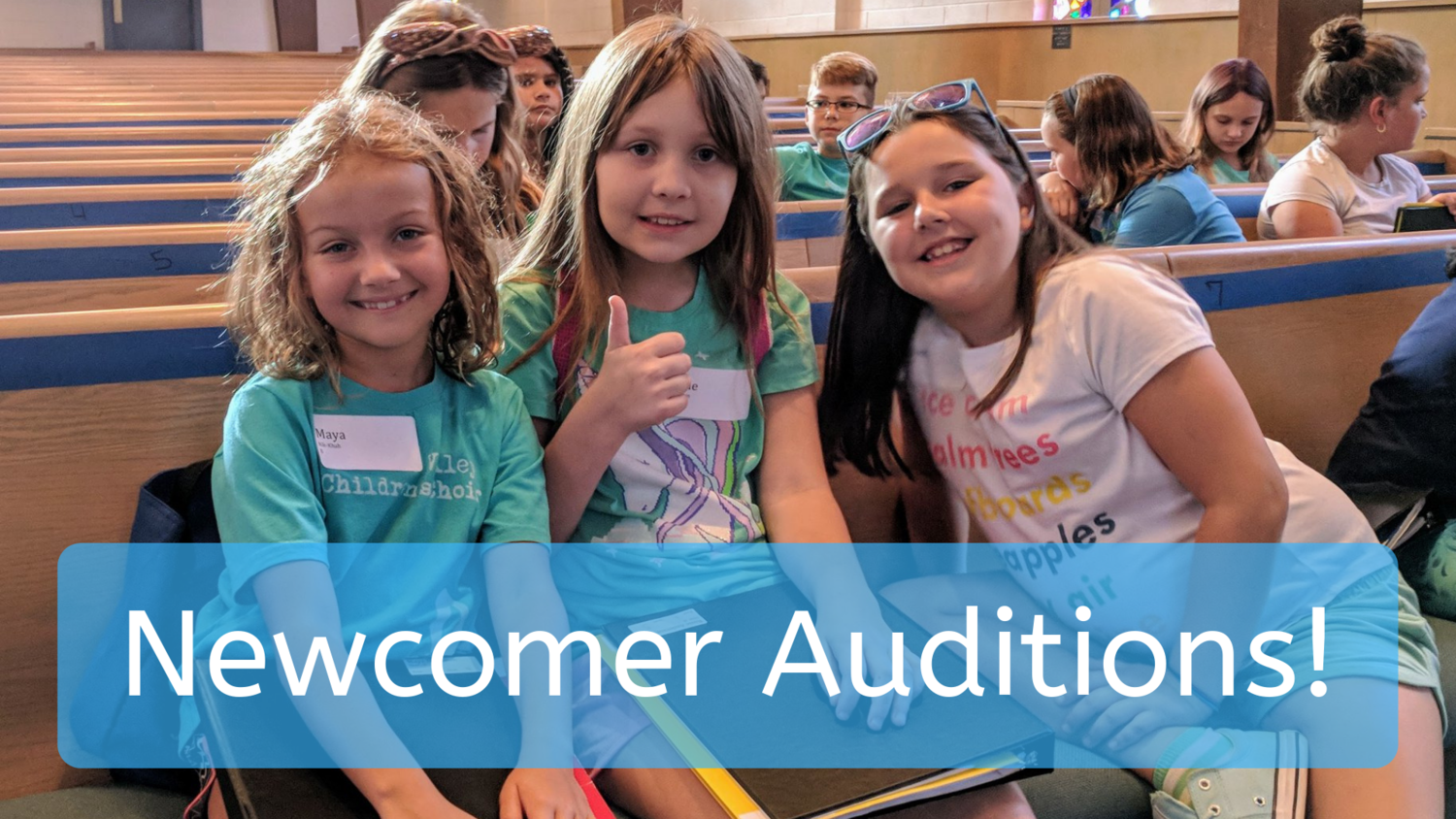 How To Join — Roanoke Valley Children's Choir