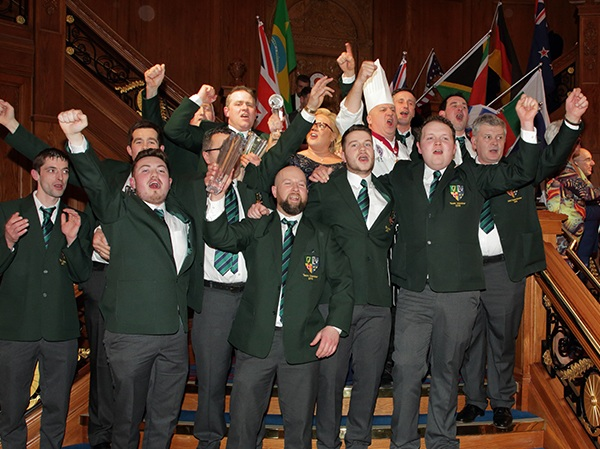 It was Ireland's call. - That moment when Team Ireland won the 2018 World Butchers' Challenge in front of family and friends on home soil - not to mention, their first time competing. If you were there, we doubt you can look at this photo without singing Ireland's Call and getting chills up and down your spine.