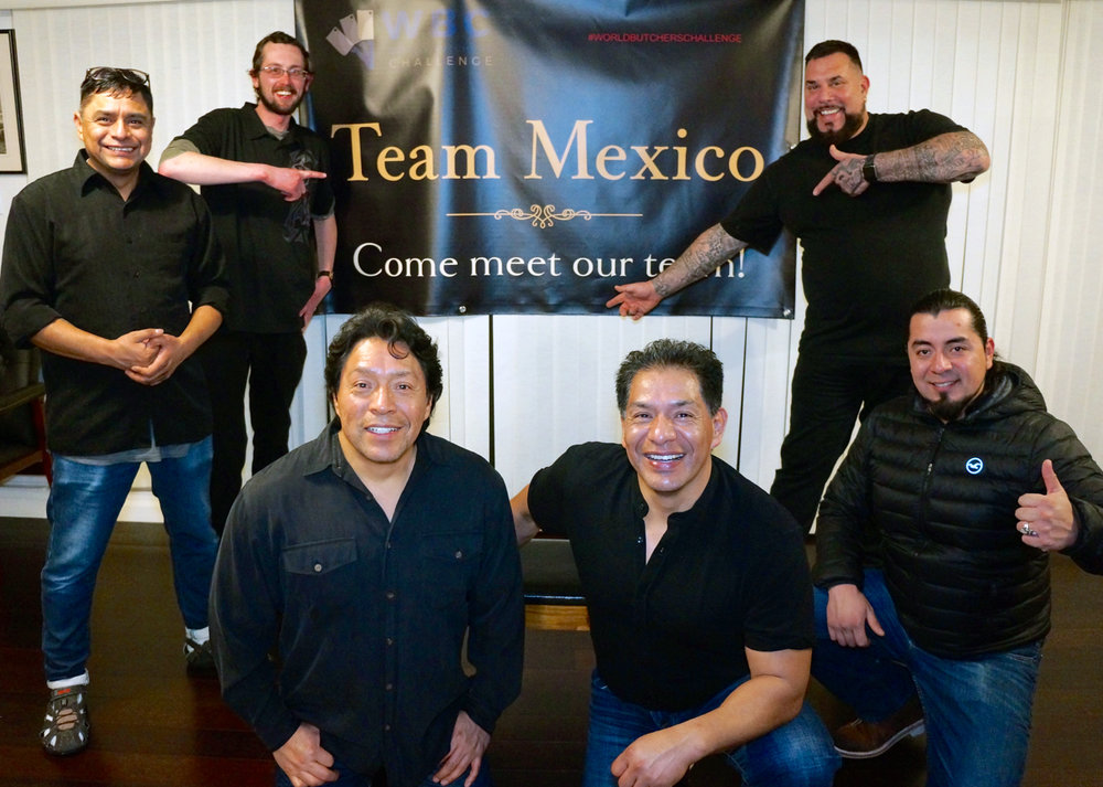 Team Mexico members from left to right: Dan Curral, Hector Yedra, Miguel Yedra, Oscar Yedra (Team Captain), Renato Yedra and Lorenzo Rodriguez.