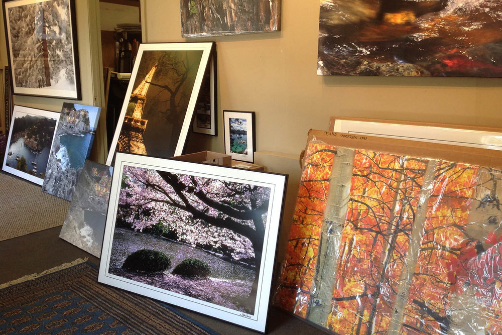 Shop for Fine Art Photography, small gift items such as matted photographs, notecards and calendars.
