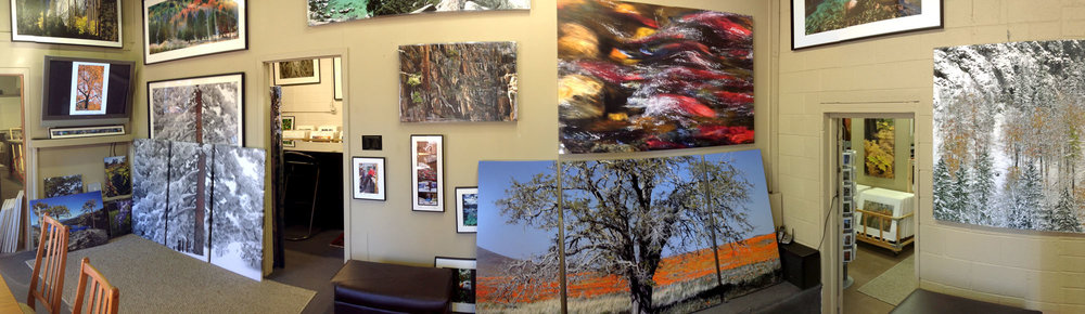 Visit us at our Studio-Gallery... - we have quite a large inventory here.