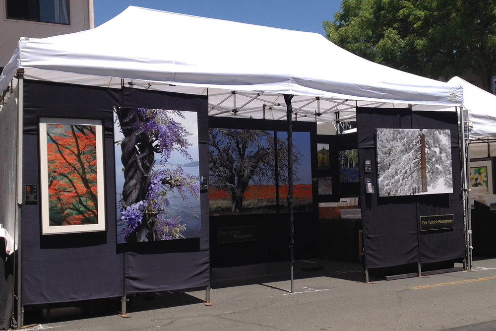 Los Altos Art And Wine Festival 2020.Show Schedule Dirk Yuricich Photography