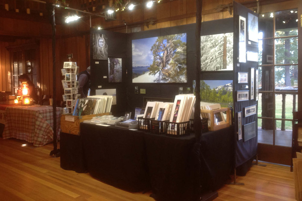 Our booth at the Valhalla Faire... - fun gift items for the holidays.