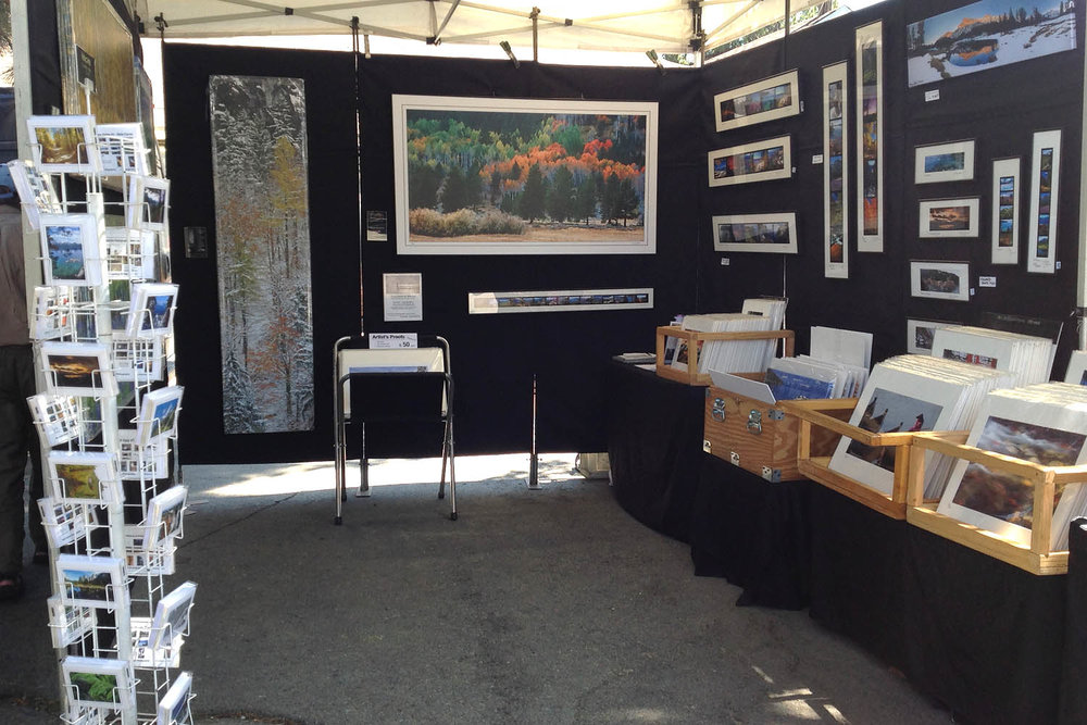 Dirk Yuricich Photography at the South Lake Tahoe Farmers Market