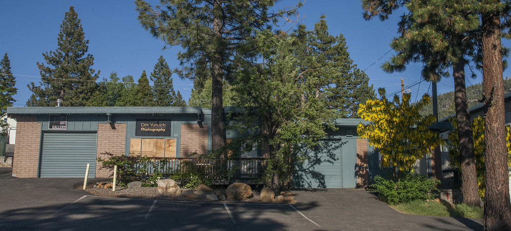 Dirk Yuricich Photography Studio-Gallery at 171 Shady Lane, Stateline, Nevada in Lake Tahoe.