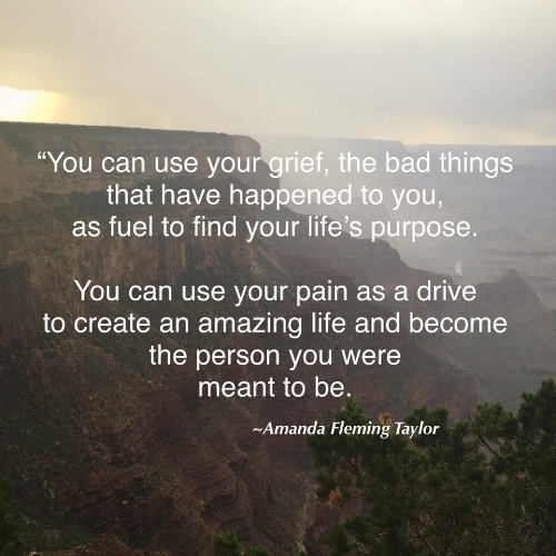 Grief Quote Amanda Fleming Taylor