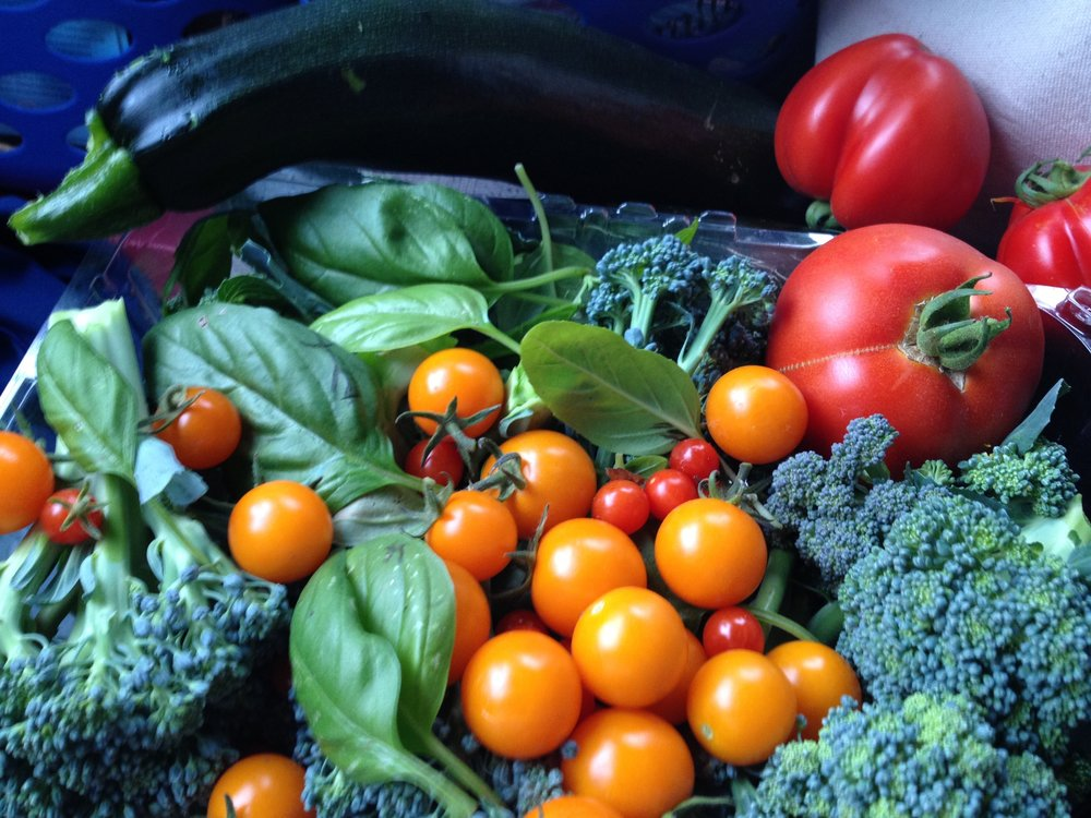 just like all healthy diets your main focus should be fresh vegetables