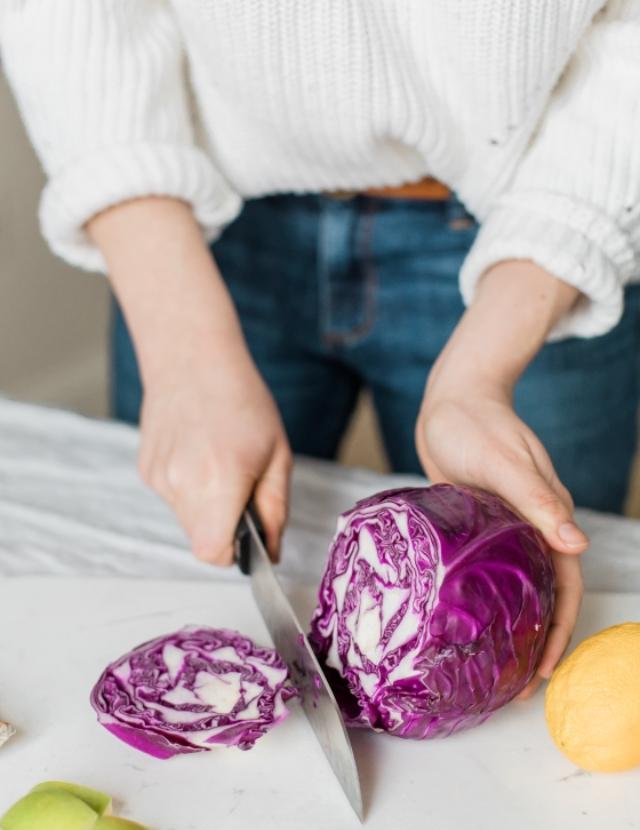 Homemade sauerkraut is a great way to help boost digestion!