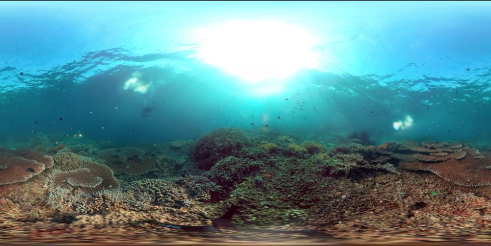 underwater vr -
