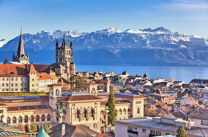 Lausanne - Our newest tech hub, right in the middle of Europe!