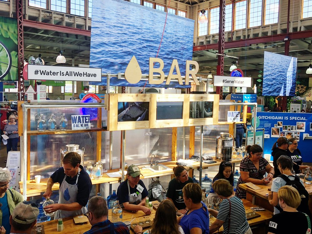 Water Bar at Minnesota State Fair (2018), St. Paul, MN