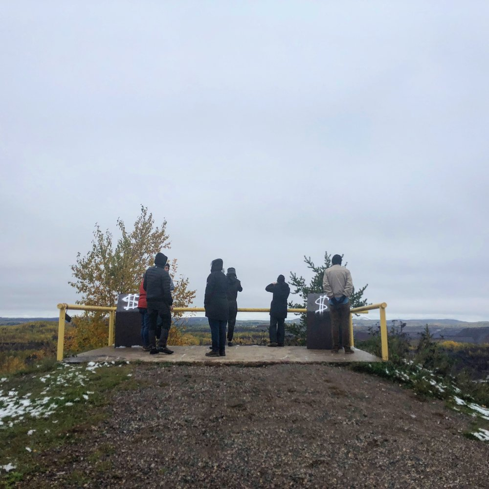 Overburden / Overlook (2018 - 19), a public art and engagement project in progress, Minnesota