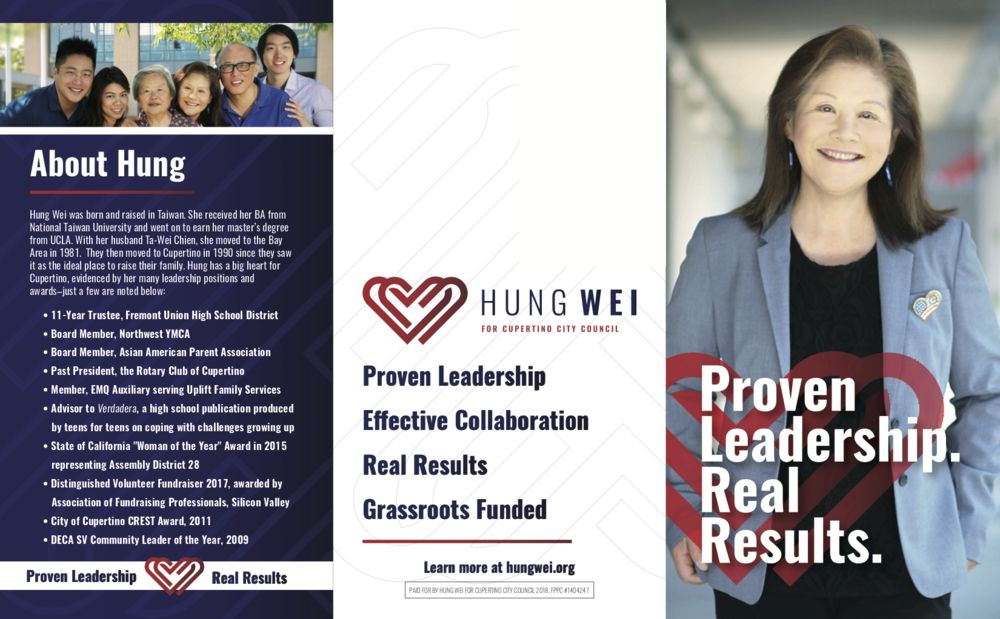 Hung Wei for Cupertino City Council - Mailer - 1.png