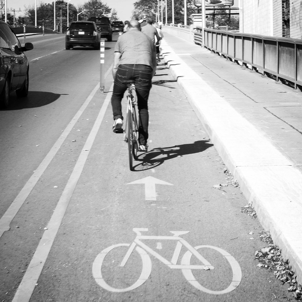 the challenge    Consistently we hear from Londoners that they do not bike because they do not believe it is safe to do so. Painted bike lanes of the kind we have now simply do not work to get people on their bikes.