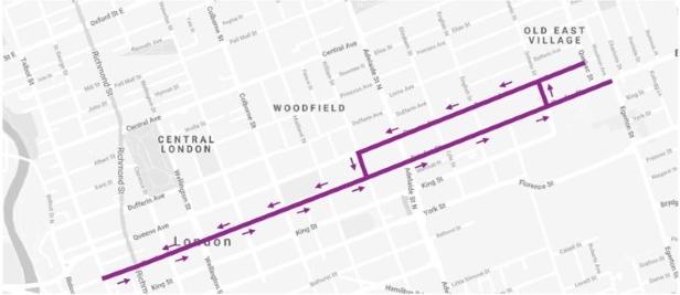 Citys Corridor map.png
