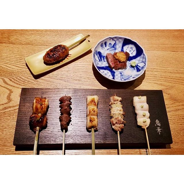 Some of our most popular Yakitori items that will be part of our special $100 Valentine's Day Omakase.. 🐓🐔♥️ Sot- L'Y-laisse (chicken oyster )  topped with yuzu pepper  Sunagimo ( gizzard ) topped with smoked salt  Dakimi ( chicken breast ) topped with yuzu salt  Negima ( chicken thigh ) with grilled onion topped with salt and black pepper  Sabiyaki ( chicken tenderloin ) topped with wasabi  Tsukune ( chicken meatball ) inside are some pieces of yagen ( soft bone ) dipped in a sweet soy sauce  A-5 Miyazaki wagyu beef topped with uni ( sea urchin ) served with wasabi and Himalayan pink salt .  Reservations are still available for the times of 6 pm and 7 pm only through open table and on the  phone , we will also have a wine pairing available for this day for an additional $60 per person. We are looking forward to seeing you all then ! Arigato !  #torikony #toriko #valentinesday #japanesecruisine #yakitori #omakase #westvillage #greenwichvillage #nyc #skewers #wagyu #uni #tskune #chicken #infatuation #infatuationnyc #food52 #foodporn #foodie #foodphotography #foodstagram #foodgasm #foodblog #foodbeast