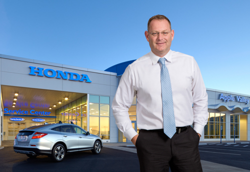 My Name Is Tod McLaughlin And I Am The General Manager At Apple Valley Honda.  I Would Like To Personally Thank You For Supporting This Cause.